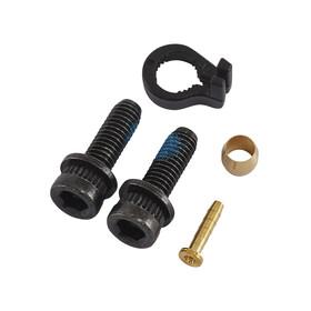 Shimano BR-M820 Scheibenbremse Hinterrad mit H03C Metall schwarz